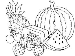 Fruits For Coloring Cute Fruit Coloring Pages Fruit Color Pages