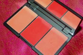 sleek makeup blush by 3 palette flame review 2 uk
