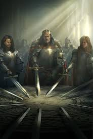 knights of the round table meme template