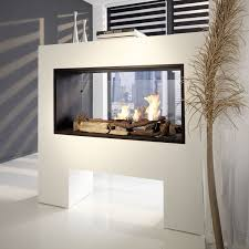 Double Sided Electric Fireplace Bioethanol Fireplace Contemporary Double Sided Electric Fireplace