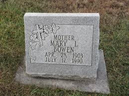 Mary Ivy Bowen (1903-1990) - Find A Grave Memorial