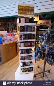 the loch ness visitor centre scotland uk stock image