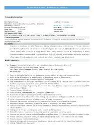 Fire Chief Resume | Tomyumtumweb.com