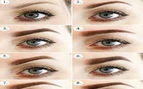 eyebrow shapes for different eyes. diy eyebrows tutorial- screenshot eyebrow shapes for different eyes