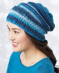 Knit Beanie Pattern Simple Lazy River Beanie AllFreeKnitting