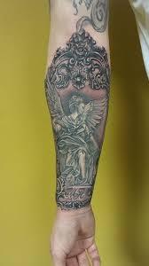 Tetování Anděl Strážný Tetování Tattoo