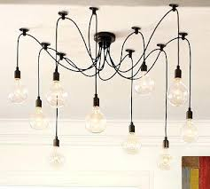 multi bulb ceiling light homey ideas how to wire a chandelier with multiple lights contemporary design