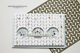 Stampin Up Seasonal Decorative Masks Baby Cards with Cookie Cutter Christmas by Stampin' Up TGIF100 29