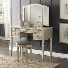 makeup station furniture. Absher Vanity Set Throughout Makeup Station Furniture