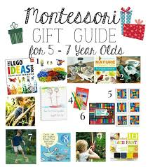 Montessori Christmas Gift Guide for 5-7 Year Olds 5 \u2013 7 Old\u0027s