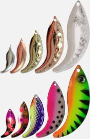 French Spinner Blade Size Chart Types Of Spinner Blades Fishing Outposts