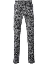 dior homme lines print trousers 980 noir men clothing regular straight leg dior sauvage vs eau sauvage dior makeup palette the most