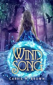 wind song pre made book cover design 120