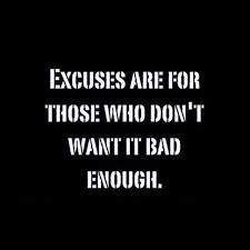 Excuses Quotes Cool Quotes About Excuses POPSUGAR Fitness