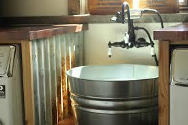 diy galvanized tub sink the prairie homestead