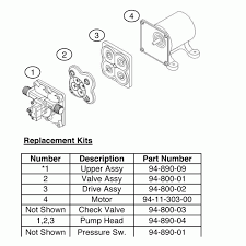 shurflo 4009 24v fresh water auto pump 11 3 lpm 30ps 1 2in Shurflo Wiring Diagram spare parts diagram shurflo pump wiring diagram