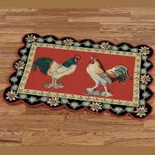 genuine bird area rug barnyard rooster rugs to expand polka dot solid