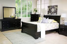 The Versailles Bedroom Collection In Black Mor Furniture For Less ...