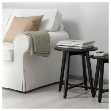 kragsta nesting tables set of 2 black ikea glass coffee table and side 0454956 pe6031