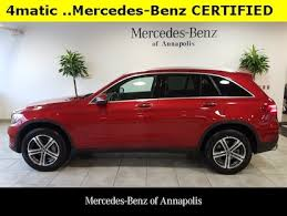 There's amg power on tap if you must. Used 2018 Mercedes Benz Glc Class For Sale At Mercedes Benz Of Annapolis Vin Wdc0g4kbxjv093917