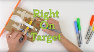 A Team Of Engineering Students Is Designing A Catapult Right On Target Catapult Game Activity Teachengineering