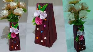 Paper Flower Pots Diy Ll Very Creative Newspaper Flower Pot Design 2