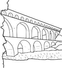 Dessin De Maison Facile 5 Coloriage Pont 224 Imprimer Evtod