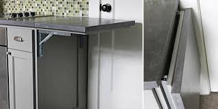 gray countertop table image via hammer like a girl