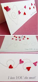 paper pierced valentine s card
