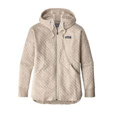 Patagonia Women's Cotton Quilt Hoody & W's Organic Cotton Quilt Hoody, Birch White ... Adamdwight.com