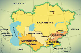 Resources in central asian