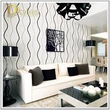 fashion luxury striped wallpaper living room beroom walls decor black grey wall paper roll papel de