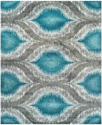 Turquoise Area Rug And Orange Red Medium Size Of Living