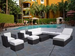 Living Room: Patio Sofa Set Unique Twin Wicker Lounger Wicker Outdoor  Furniture Garden - Garden