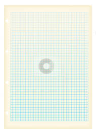 Grunge A4 Graph Paper Square Stock Vector