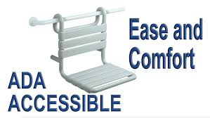 Hewi Nylon Shower Seats ADA Accessible Bathroom Safety YouTube - Ada accessible bathroom