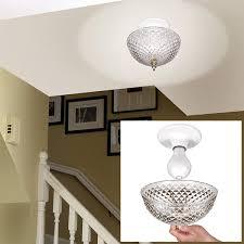Lamp Shade Over Light Bulb