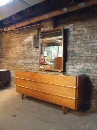 American Of Martinsville Bedroom Furniture Mid Century Chicago American Of Martinsville Walnut Lowboy