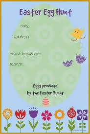 easter egg hunt template free printable easter egg hunt invitation kid blogger network