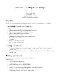 Accountant Skills Resumes Sample Accounting Resume Cover Letter Financial Accountant Cover