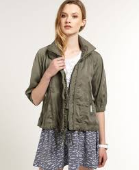 image is loading new womens superdry silk route er jacket dusky