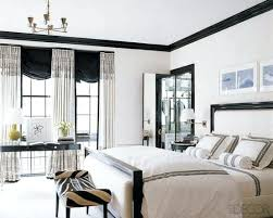 decoration: Creative Inspiring Traditional Black And White Bedroom ...