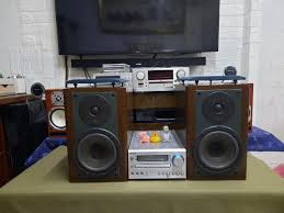 Dàn mini Onkyo CR-D2, loa zin Sansui7 | Mini, Television, Flat screen