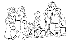Small Picture young jesus in the temple coloring page young boy jesus in the