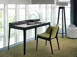 sleek office desk. view in gallery lovely modern desk with sleek walnut frame fits any style office