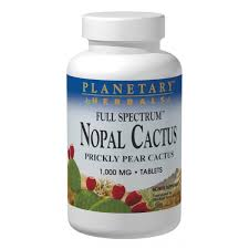 Planetary Herbals <b>Full Spectrum Nopal Cactus</b> 60 Tablets