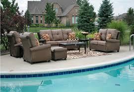 giovanna luxury 9 piece all weather wicker cast aluminum patio furniture deep seating set