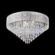 fl2281 10 royale 10 light crystal ceiling light