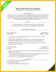 Cv London Bartender Resume Sample Letter Cv Example London Mmventures Co
