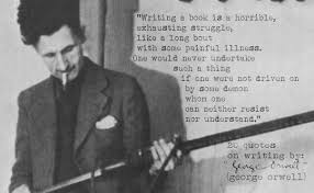 "why i write a modern remake of george orwell s ""why i write  one day i will write the rest of this essay"